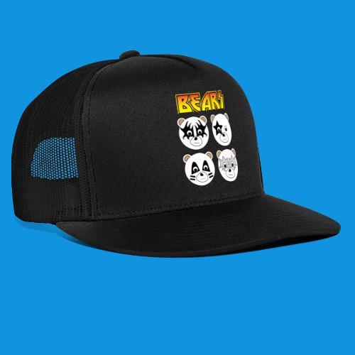Kiss Bears square.png - Trucker Cap