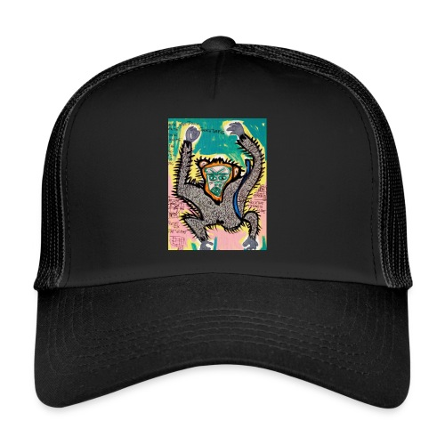 the monkey - Trucker Cap