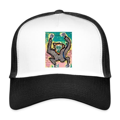 the monkey - Trucker Cap