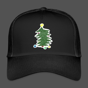 Christmas Kids-Drawing - Trucker Cap