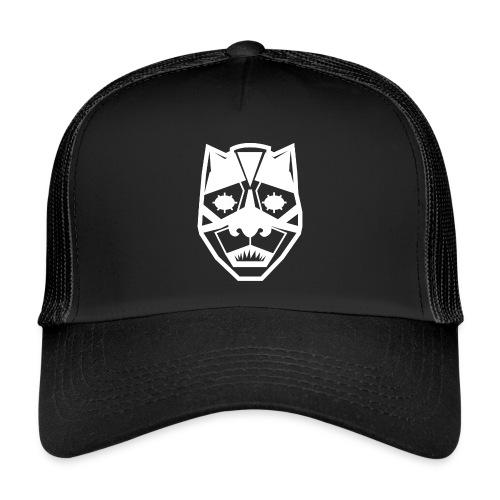 Mask White - Trucker Cap