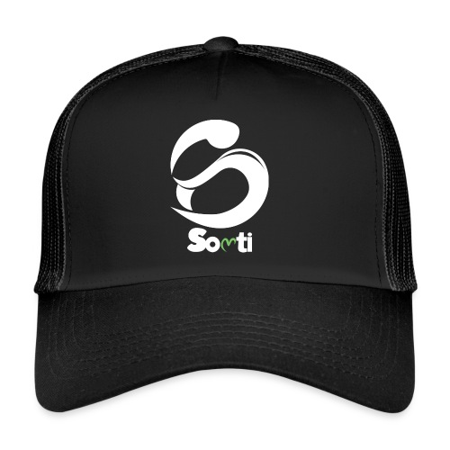 SoltiSquad White Logo for Solti (Men) - Trucker Cap