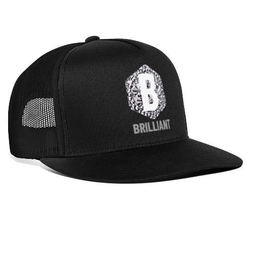 B brilliant grey - Trucker Cap