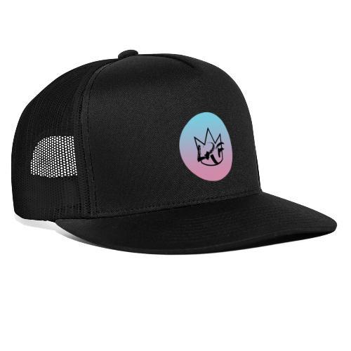 logo lrf rond black casquette - Trucker Cap