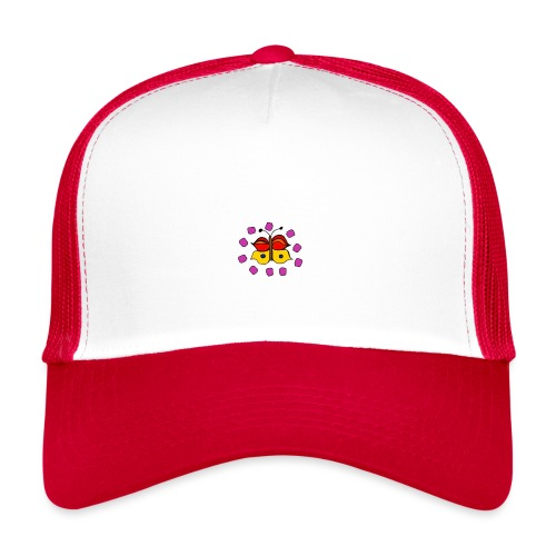 Butterfly colorful - Trucker Cap