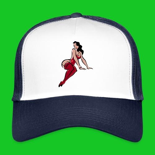 Pin up girl 3 - Trucker Cap