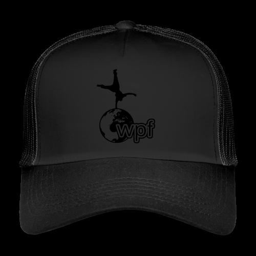 WPF Black - Trucker Cap