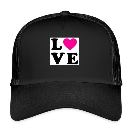 Love t-shirt - Trucker Cap