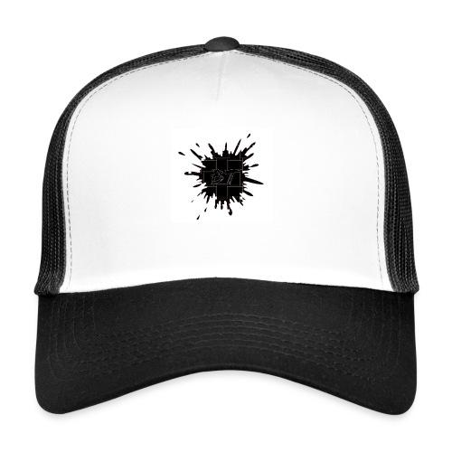 Blacktuber Splash Logo - Trucker Cap