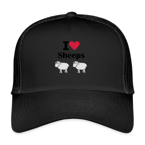 I-love-sheeps - Trucker Cap