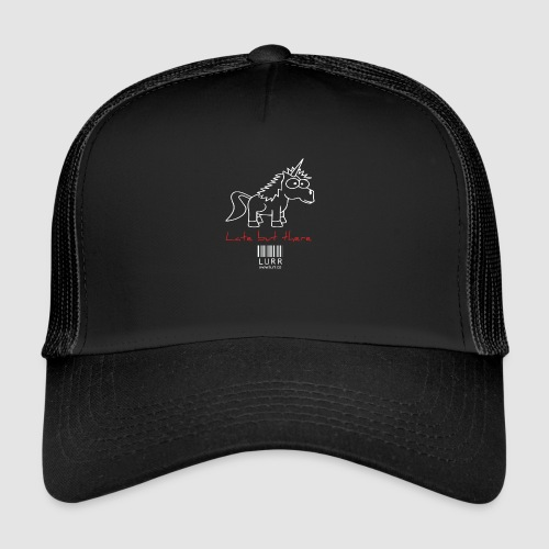 lurr unicorn - Trucker Cap