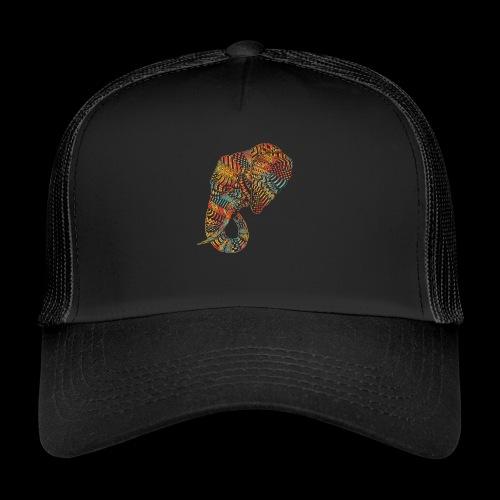elefante colors - Gorra de camionero
