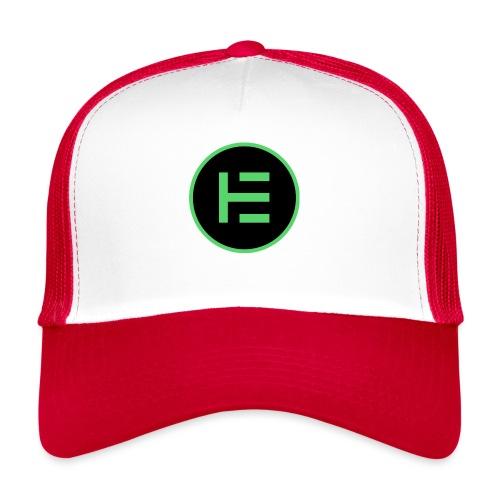 EUM Black logo - Trucker Cap
