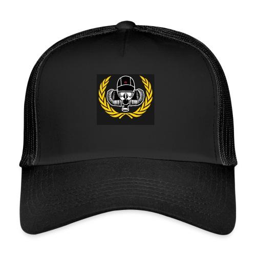 Logo Schwarz png - Trucker Cap