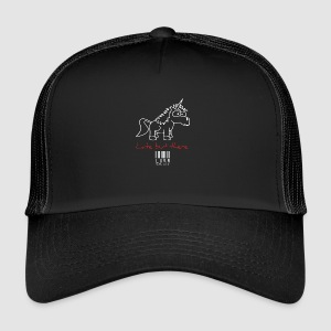 lurr unicorn - Trucker Cap