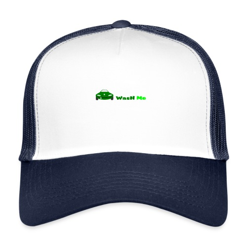 wash me - Trucker Cap