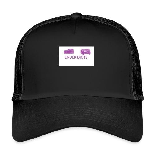 enderproductions enderidiots design - Trucker Cap