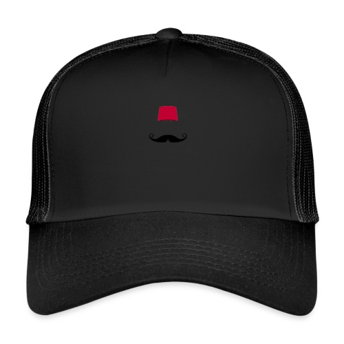 bart fez - Trucker Cap