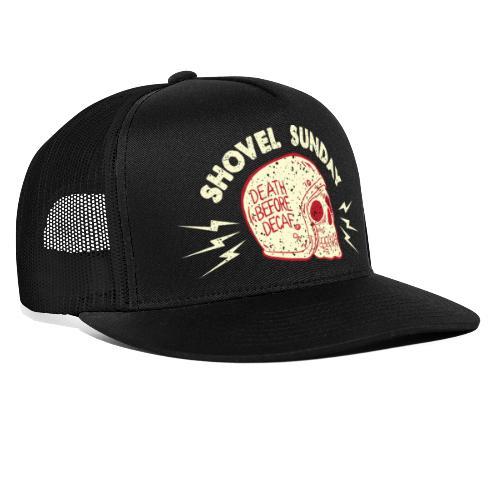 Death Before Decaf - Trucker Cap