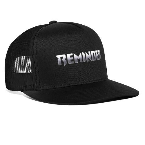 logo Reminder letters - Trucker Cap