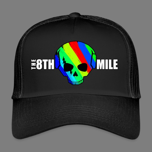 Colorful Skull Logo - Trucker Cap