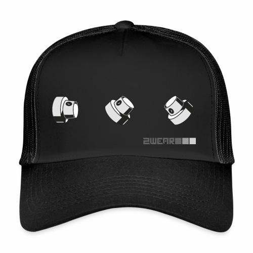 2wear caps street flow ver01 √ - Trucker Cap