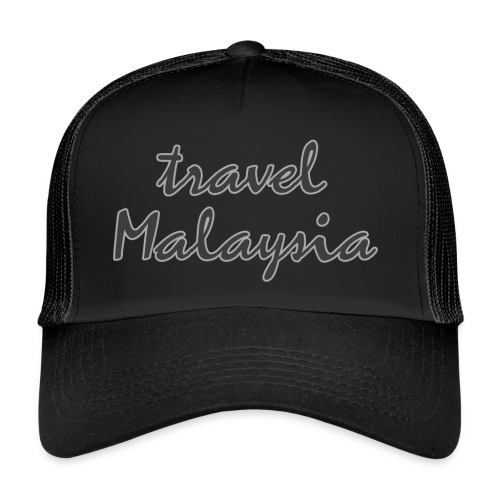 travel Malaysia - Trucker Cap
