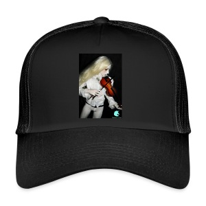 Vampire Violin Gothic Music Fantasy Enchanted - Trucker Cap