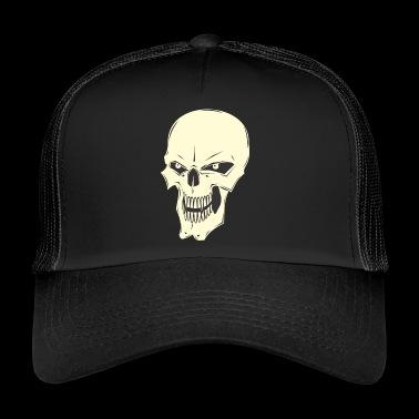Cráneo malvado - Gorra de camionero