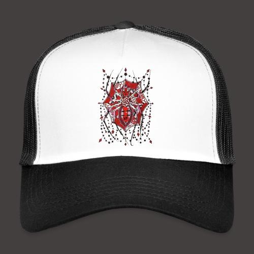Spider Dentelle Red - Trucker Cap