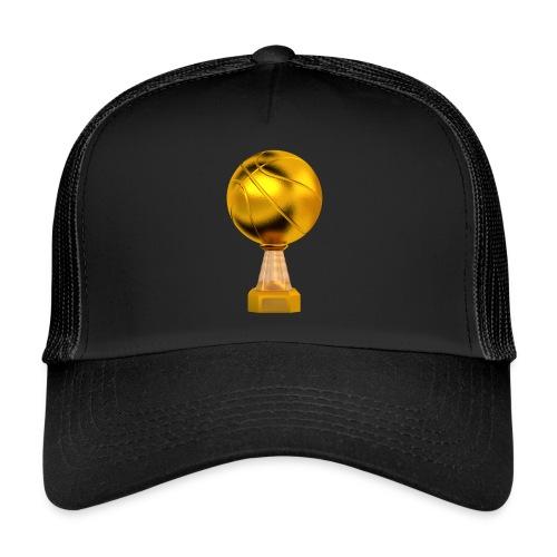 Basketball Golden Trophy - Trucker Cap