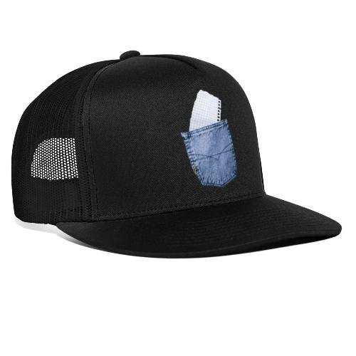 Jeans Baggy by #OneCreativeArts - Trucker Cap
