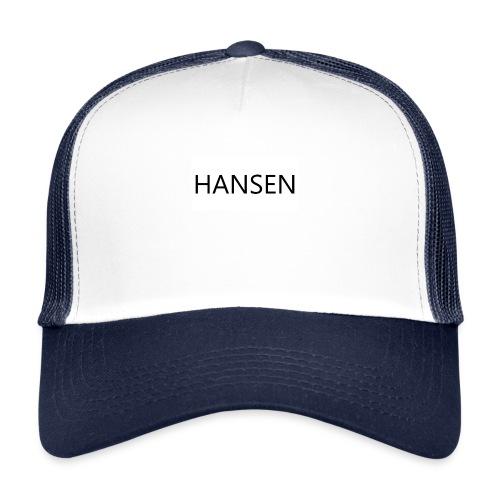 HANSENLOGO hvid - Trucker Cap