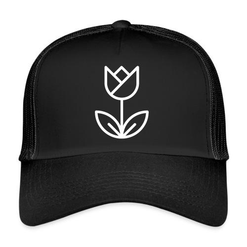 Tulip white png - Trucker Cap