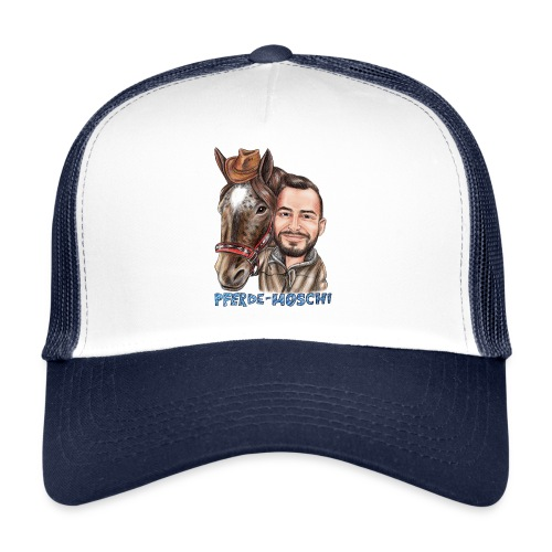 Pferde-Hoschi Kollektion hinten - Trucker Cap