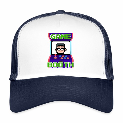 GameBooth Icon Logo - Trucker Cap