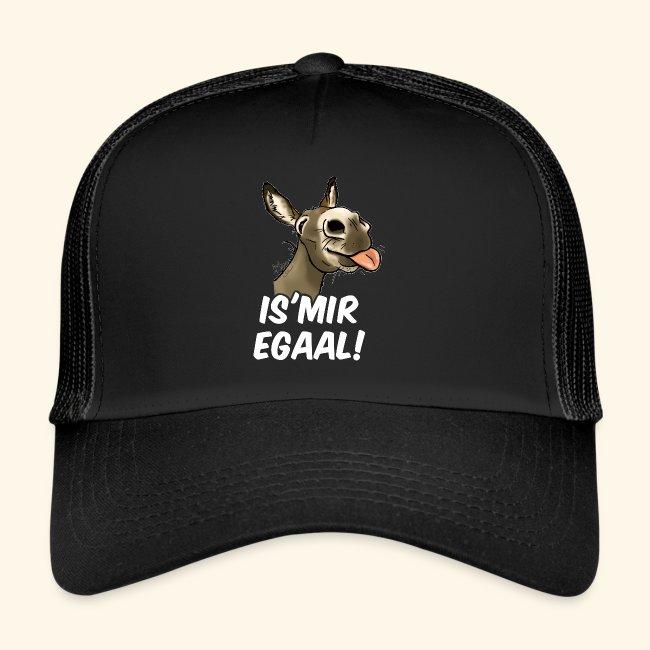 "Esel ""Is Mir Egaal""!"" (weisser Text)"