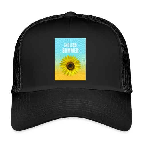 sunflower endless summer Sonnenblume Sommer - Trucker Cap