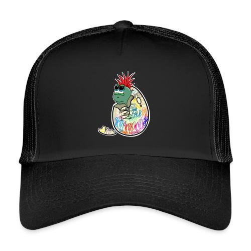 Punk Graffiti Bebe Schildkröte / Baby Dino Turtle - Trucker Cap