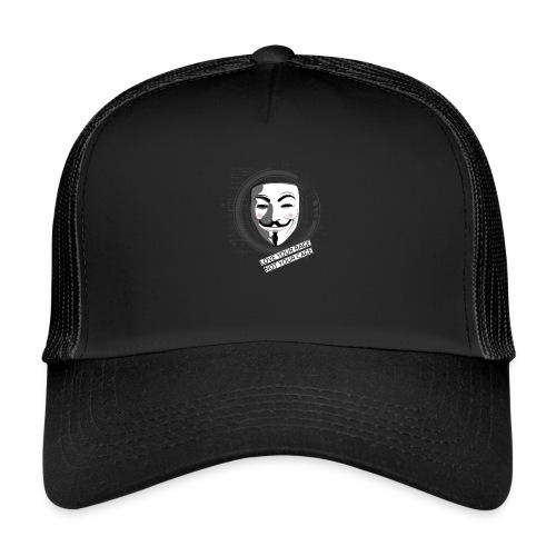 Anonymous Love Your Rage - Trucker Cap