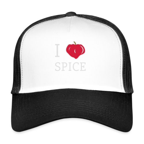 i_love_spice-eps - Trucker Cap