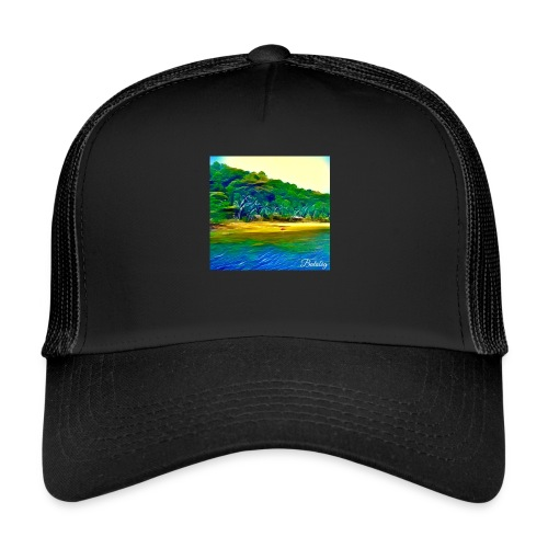 Tropical beach - Trucker Cap