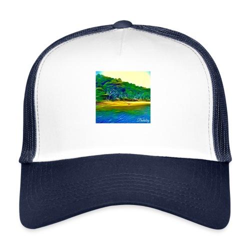 Tropical beach - Trucker Cap