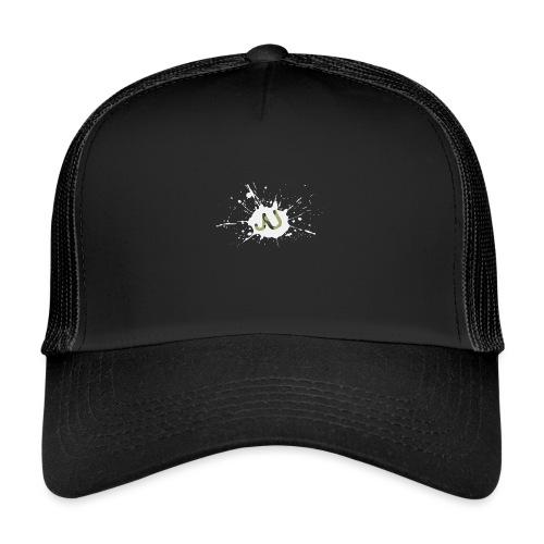 logo2 6 pinkki - Trucker Cap