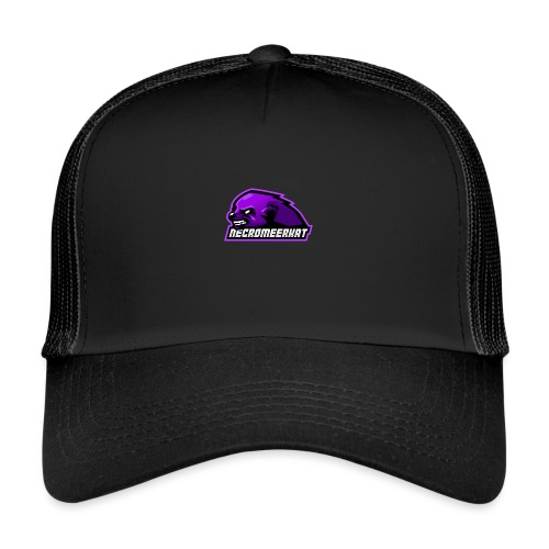 Necromeerkat logo + texte - Trucker Cap