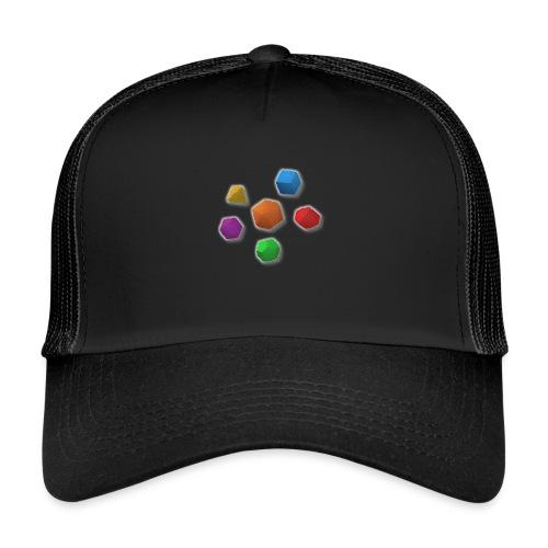 PolyDicePin - Trucker Cap