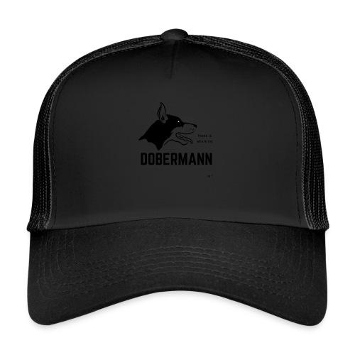 Home is where my Dobermann is ! - Trucker Cap