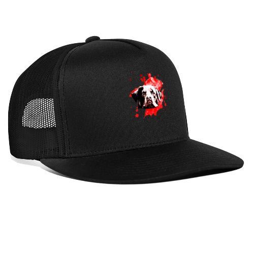 Rottweiler Watercolor red - Trucker Cap