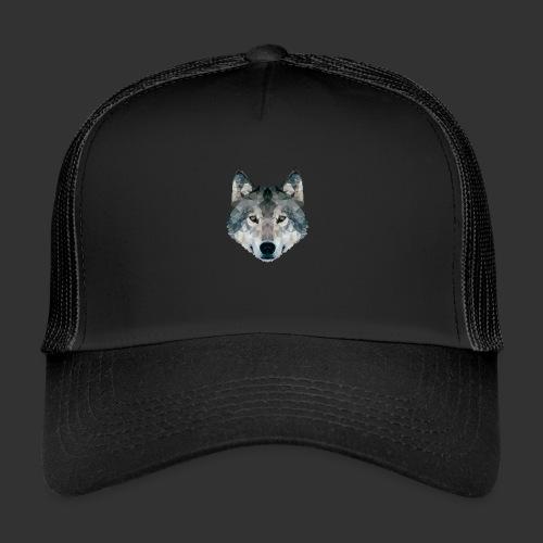Loup LowPoly - Trucker Cap