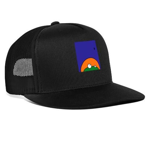 Hungry Frog - ready for dinner - Trucker Cap